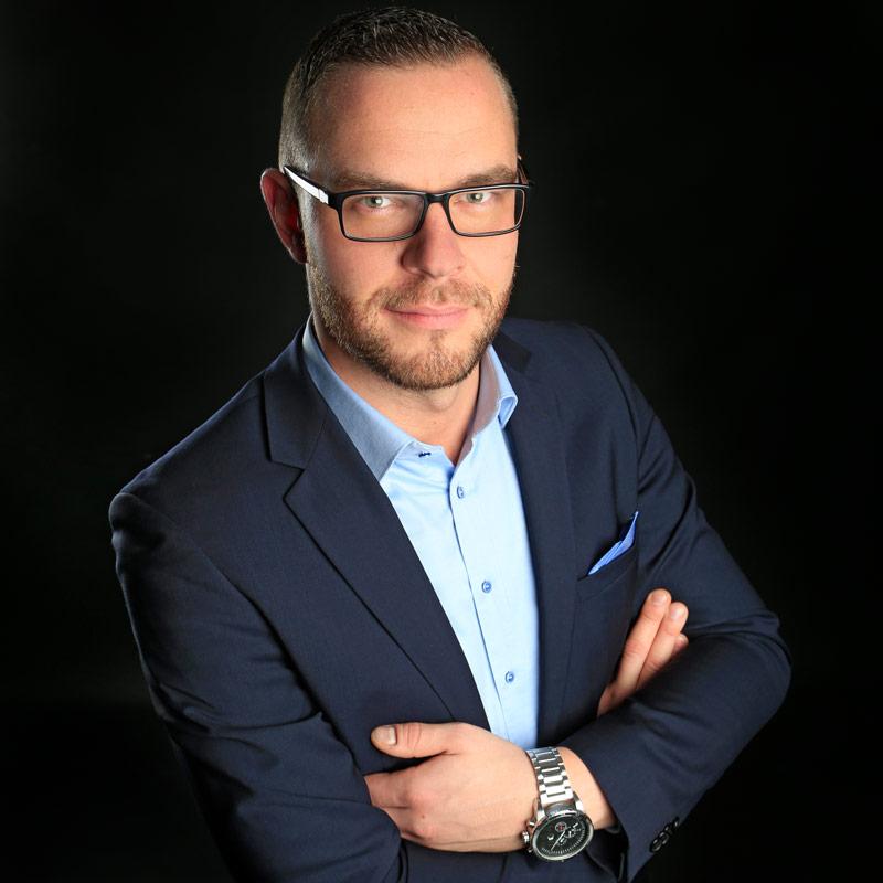 Projektleiter Erik Büchner
