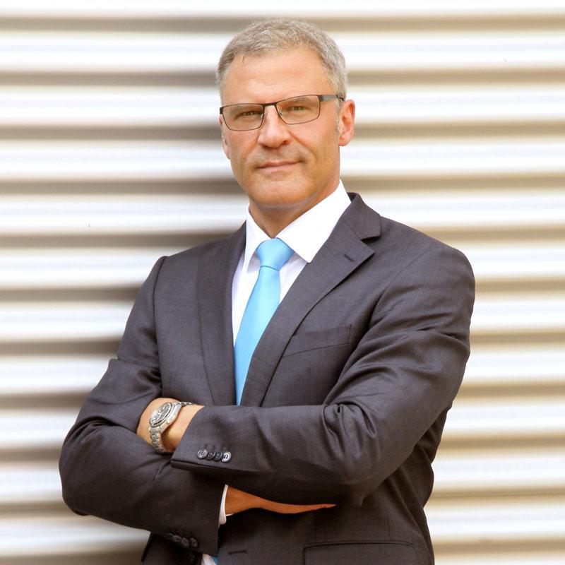 Der Geschäftsführer Erik Büchner
